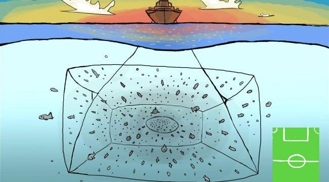 Schleppnetze, Trawl nets