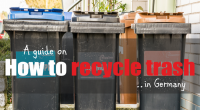 How to recycle trash in Germany | It´s easier than you think!