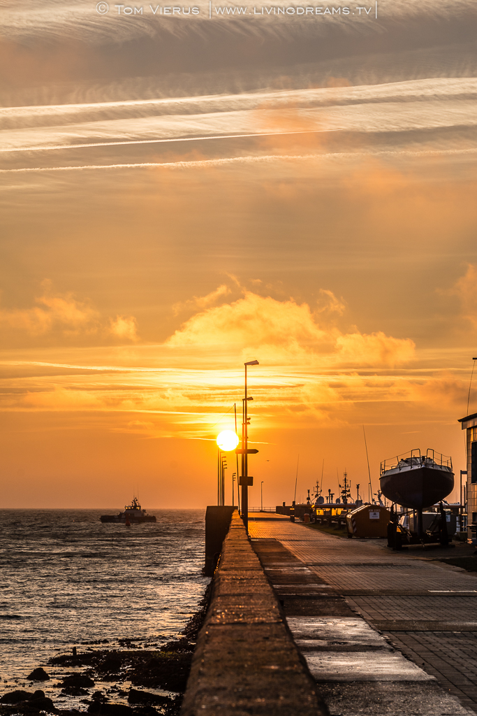 Sunrise Helgoland
