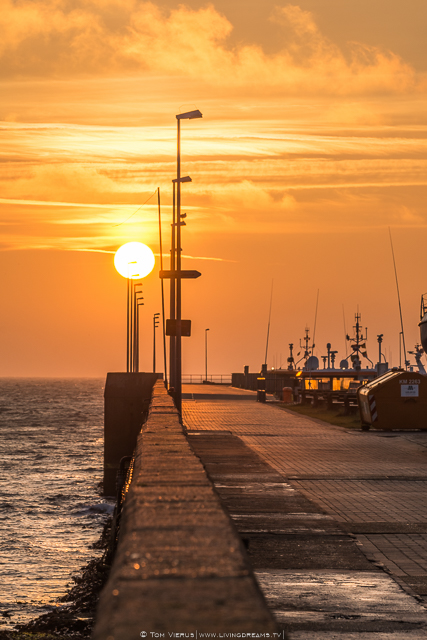 Sunset Helgoland
