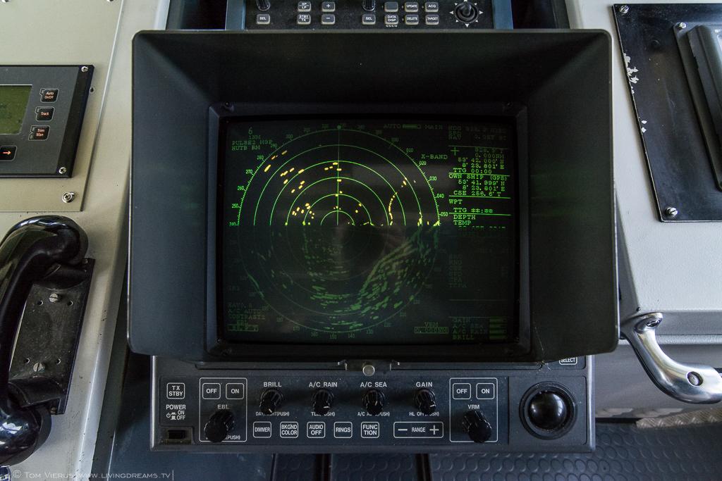 Research Vessel Uthörn Sonar