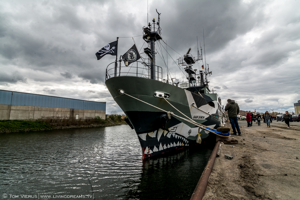Sea Shepherd in Bremen, Germany - MV Sam Simon