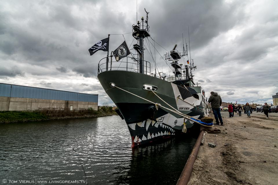 Sea Shepherd in Bremen, Germany - MV Sam Simon