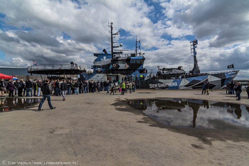 Sea Shepherd in Bremen, Germany - MY Bob Barker