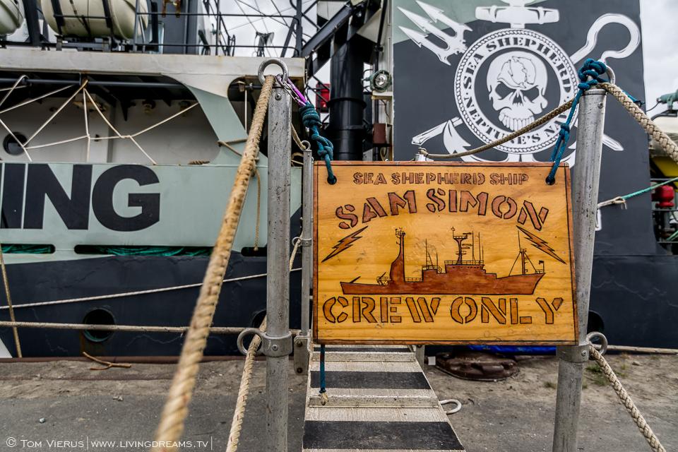 Sea Shepherd in Bremen, Germany - MY Sam Simon