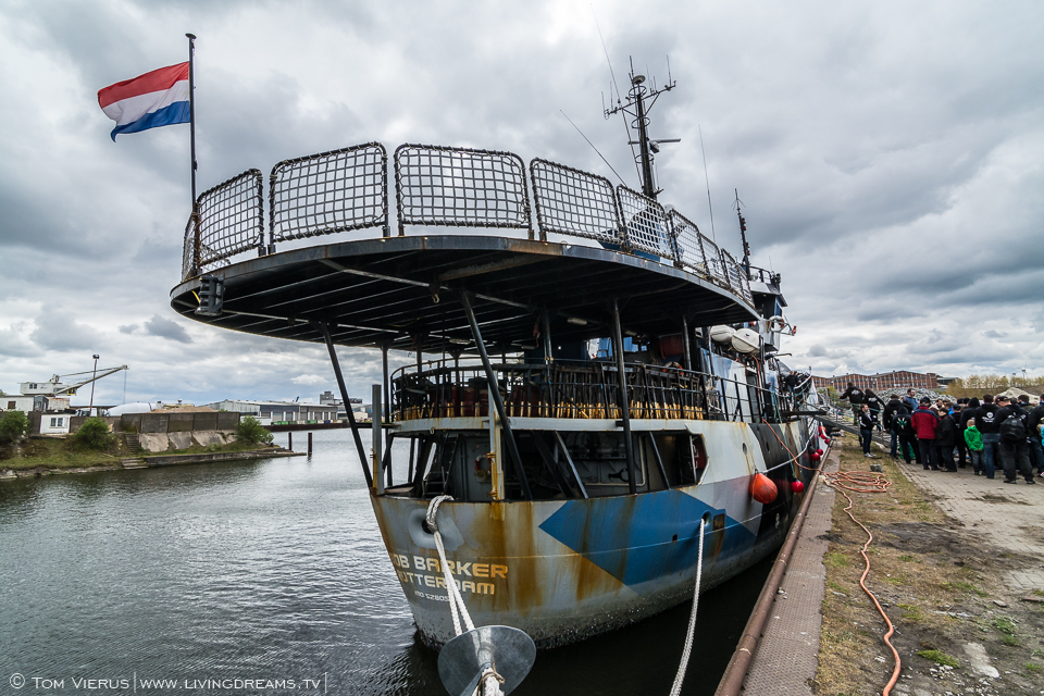 Sea Shepherd in Bremen, Germany - MY Bob Barker