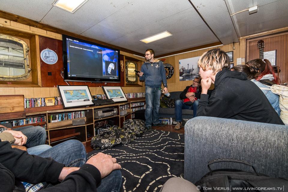 Sea Shepherd in Bremen, Germany - Living area