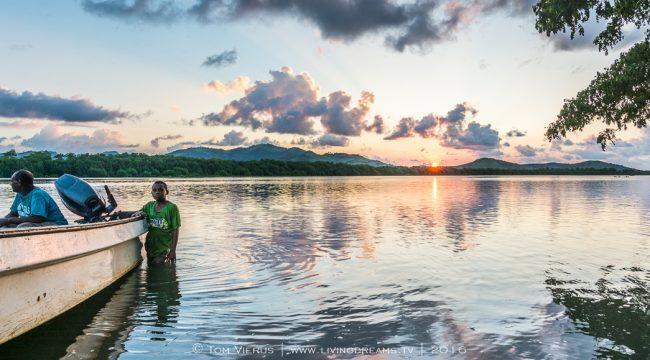Sunset, Ba, Master Thesis Fiji,