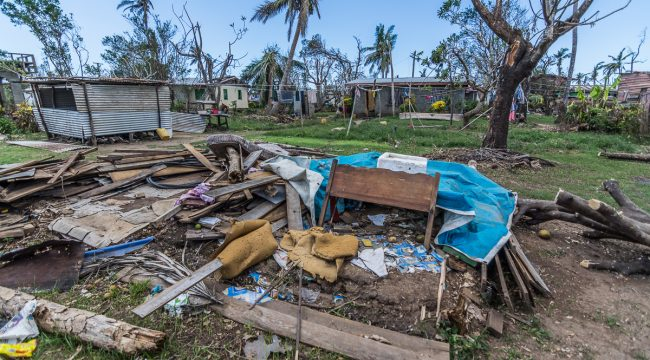 Cyclone Winston and the current situation in Fiji, 2016
