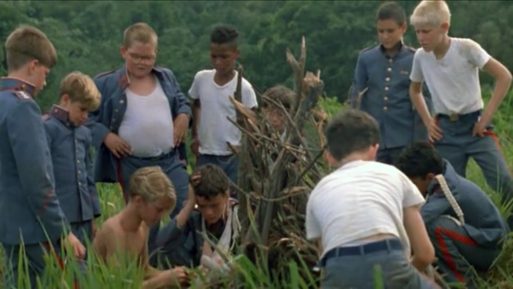 Lord of the flies, mvie