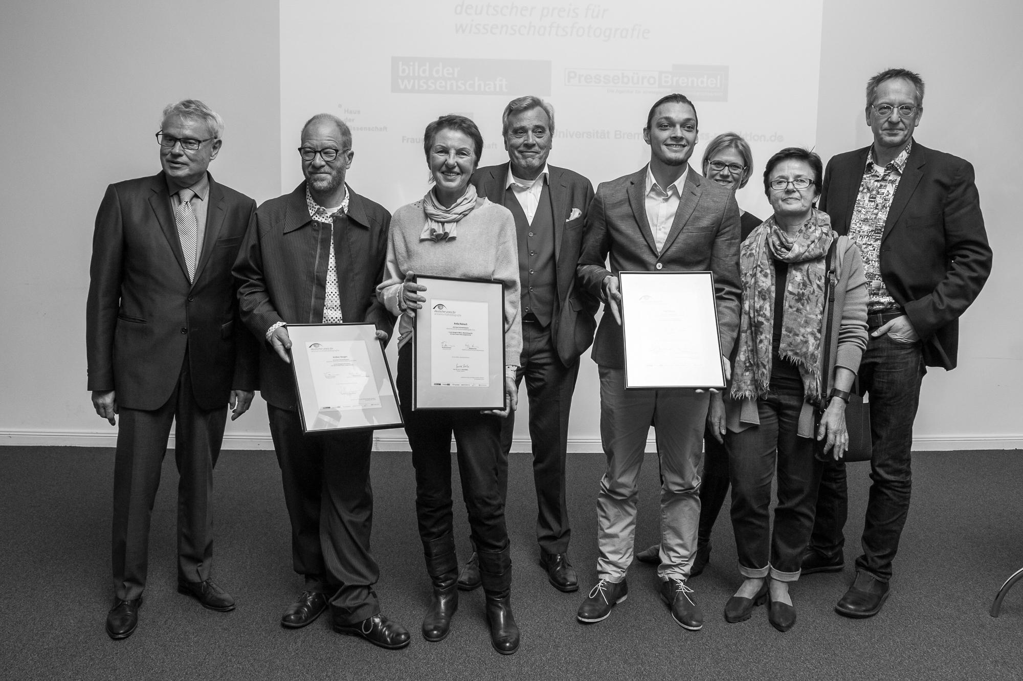 Reportage Kategorie, Fotopreis, Deutscher Preis für Wissenschaftsfotografie, Zeremonie