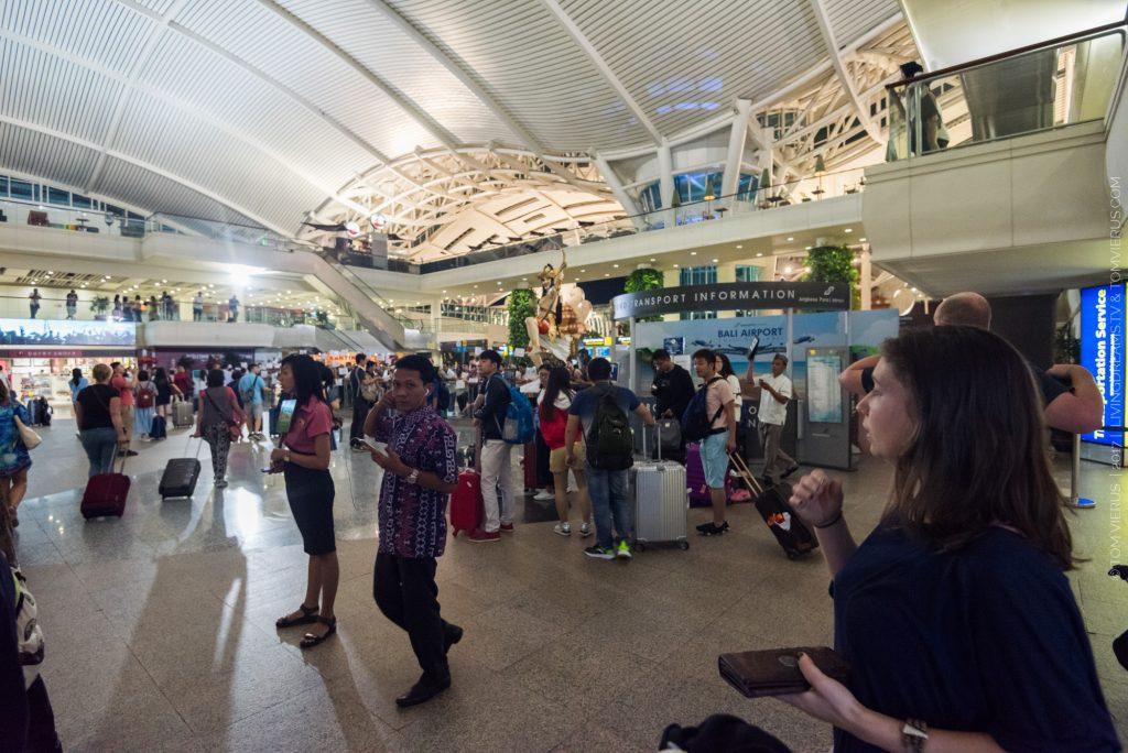Airport, Denpasar, Indonesia, Arrival, Bali