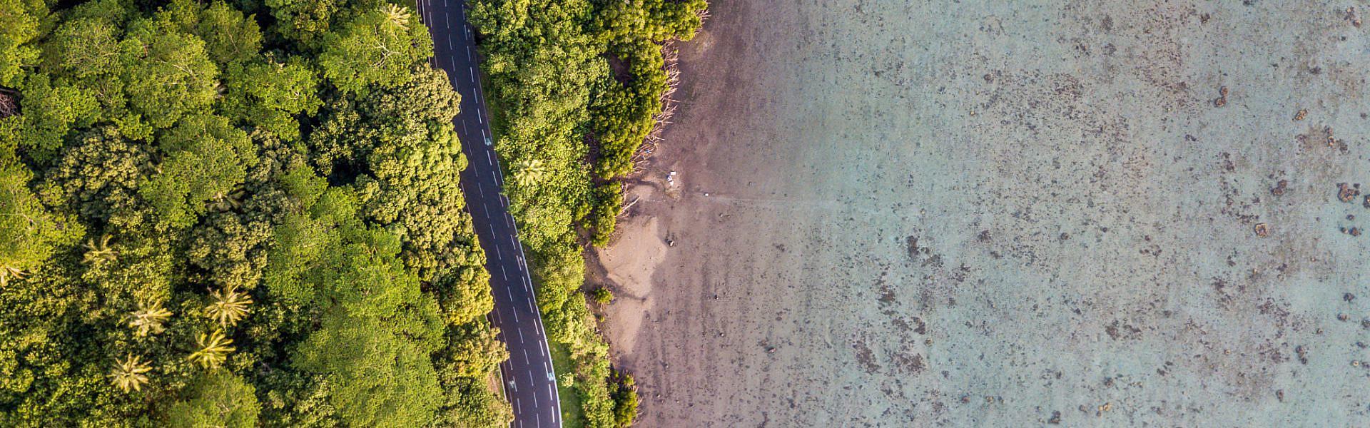 DJI Mavic, Drone, Tropics, Ocean