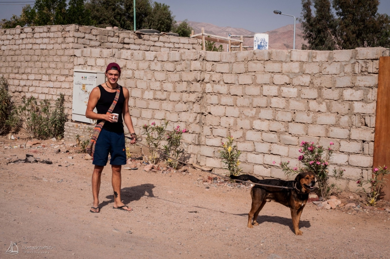 Rox and myself in Dahab