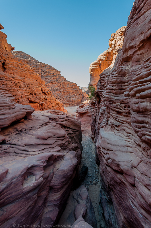 The Coloured Canyon in the Sinai desert