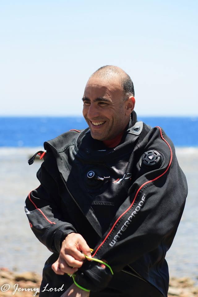 Ahmed Gabr smiling