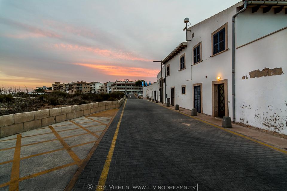 Sonneuntergang in St. Jordi
