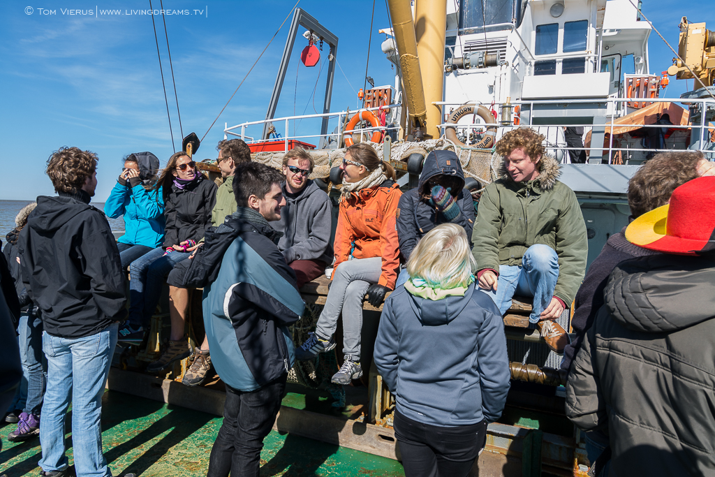 ISATEC Crew 14-15 on the Research Vessel Uthörn-1