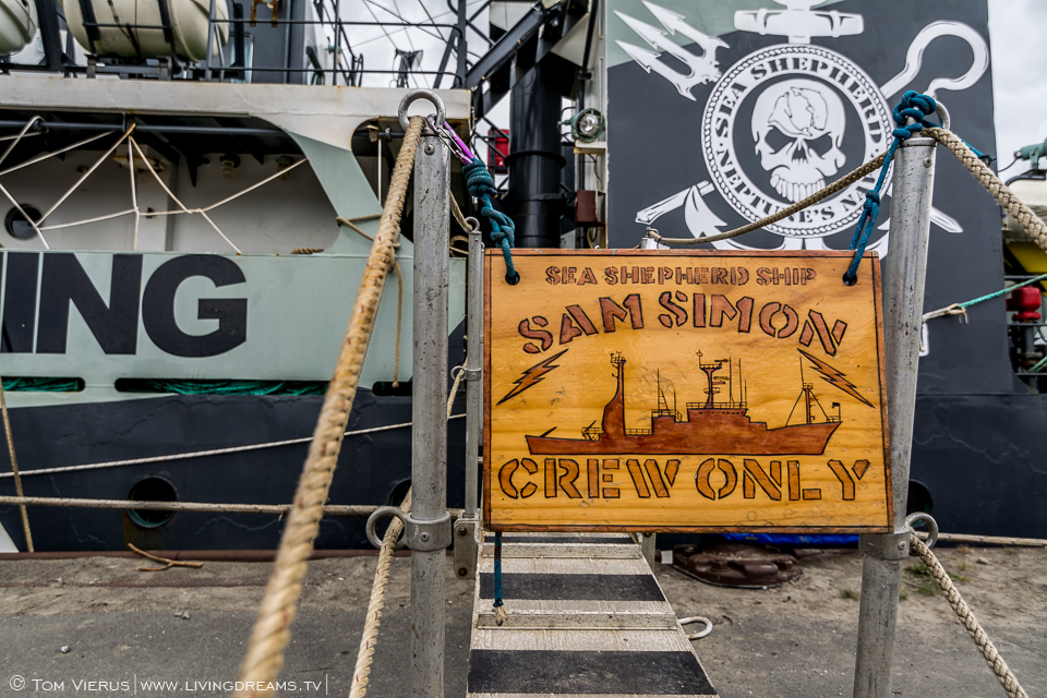 Sea Shepherd in Bremen, Germany - MY Sam Simon