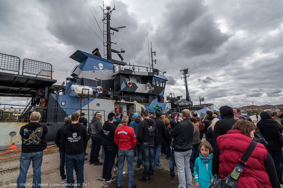 Sea Shepherd in Bremen, Germany