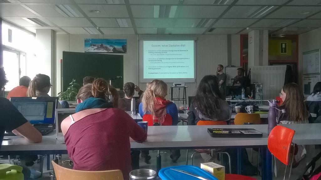 International Studies in Tropical Aquatic Ecology, University Bremen, 2015
