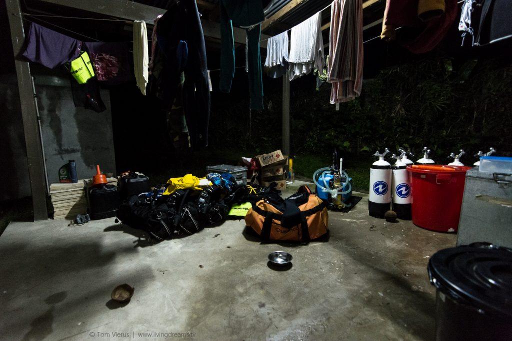 Dive Gear - REPICORE Project Fiji, ZMT