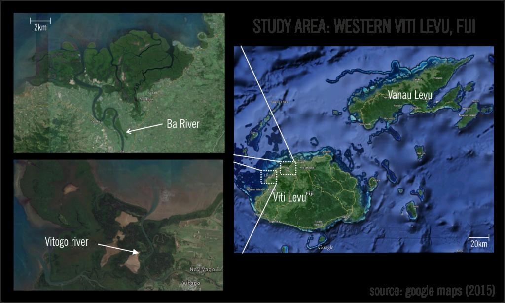 Study Area Western Viti Levu, Fiji