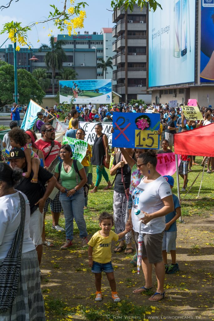 Climate March in Suva,Fiji - Climate Change Pacific