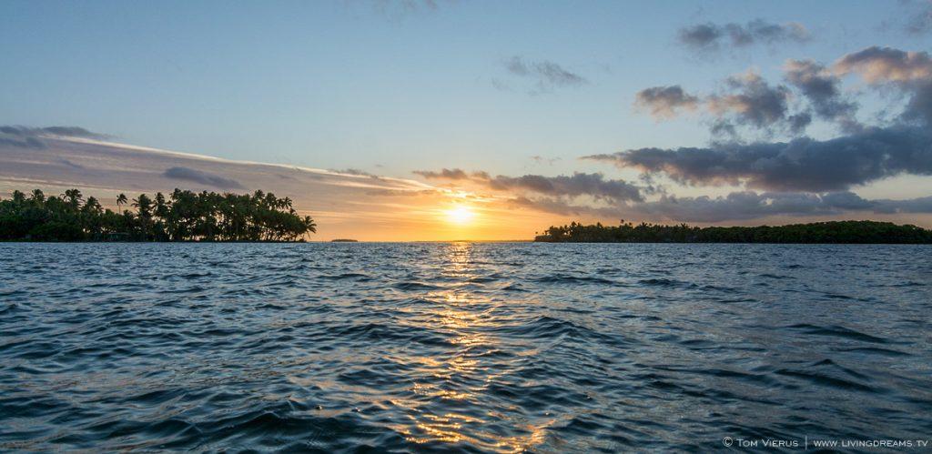 Rewa rivermouth Sunset
