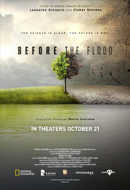 Before the flood, Leonardo Dicaprio, Environment