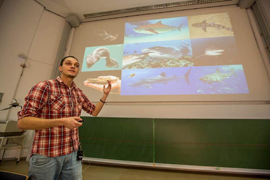 Sharks, University bremen, Jugend forscht, Vortra
