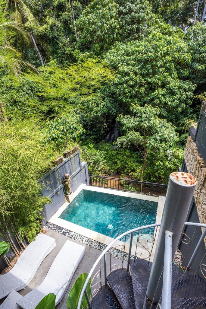 Pool, Ubud, Bali, Indonesia,