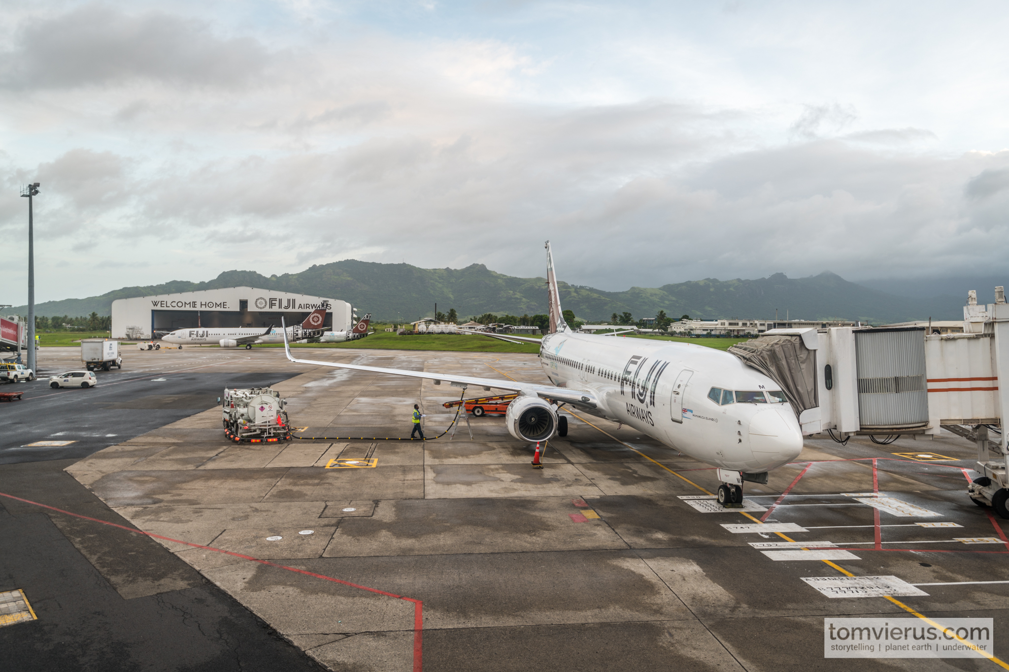 Fiji Airways, Tropics, Fiji, Plane, Expedition