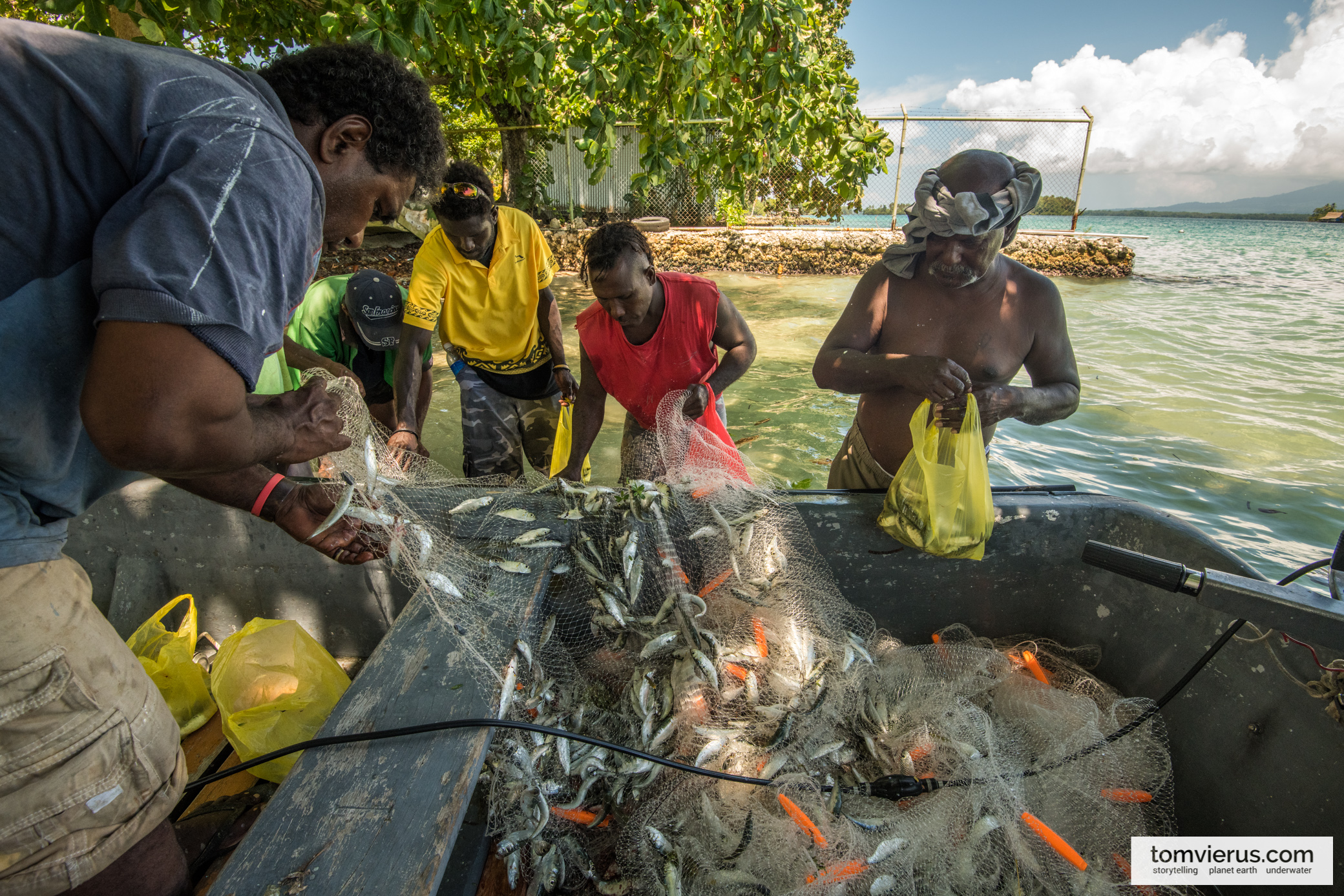 REPICORE feedback trip, Solomon Islands, Science communication