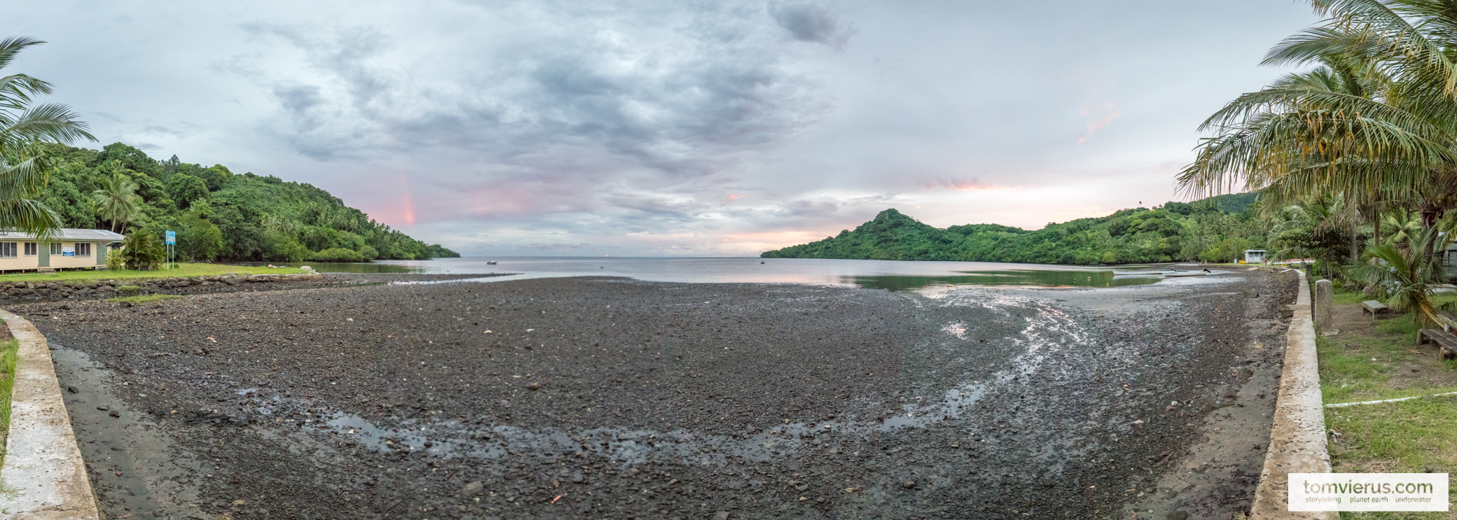 Panorama Beqa island, Fiji